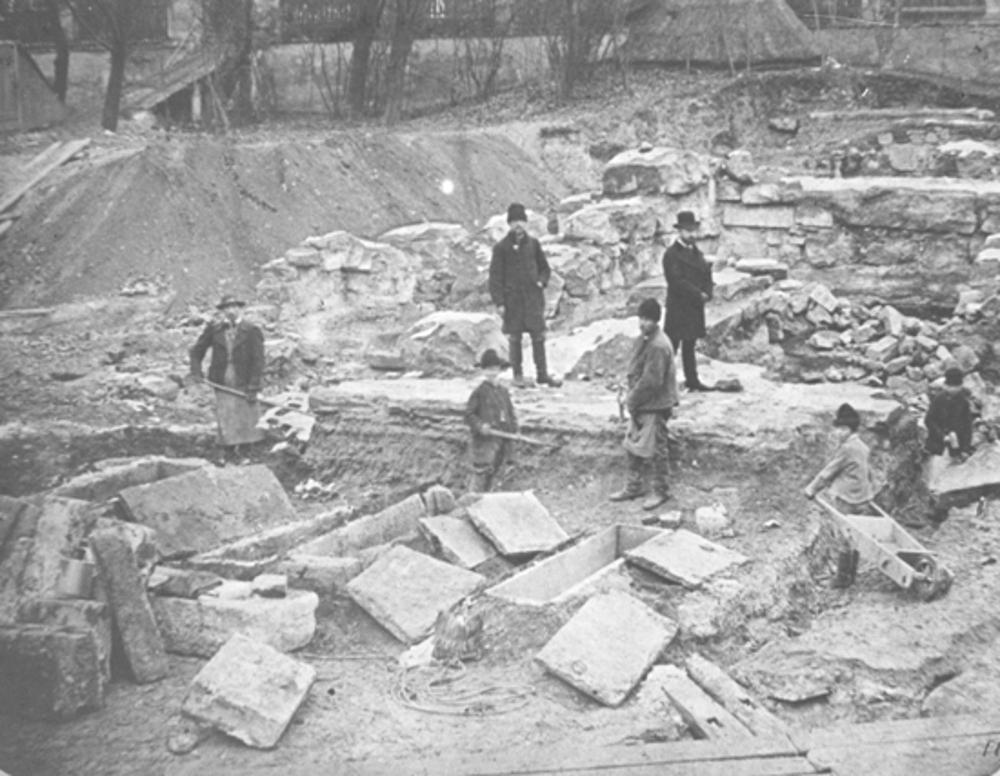 Ásatások 1874-ben (MaNDA)