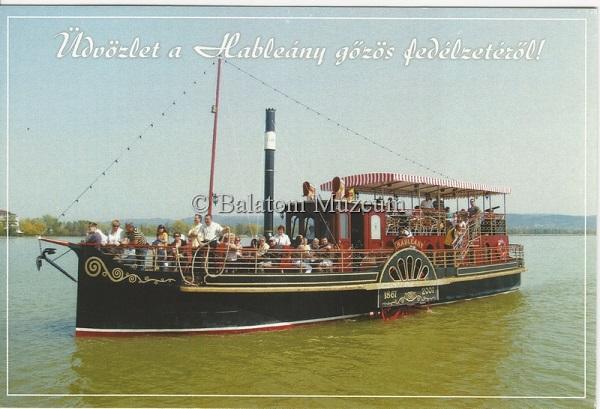 Hableány gőzös - Balatoni Múzeum, CC BY-NC-ND