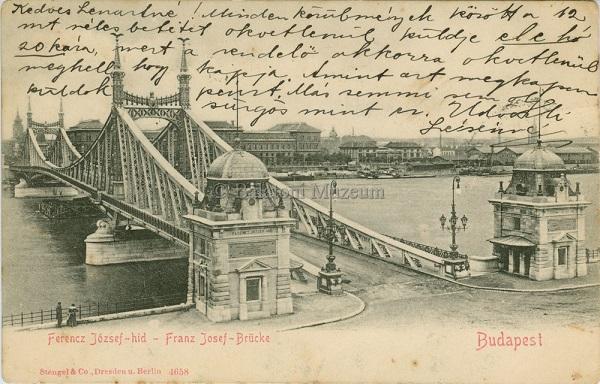 Budapest, Ferenc József-híd - Terleczky József, CC BY-NC-ND