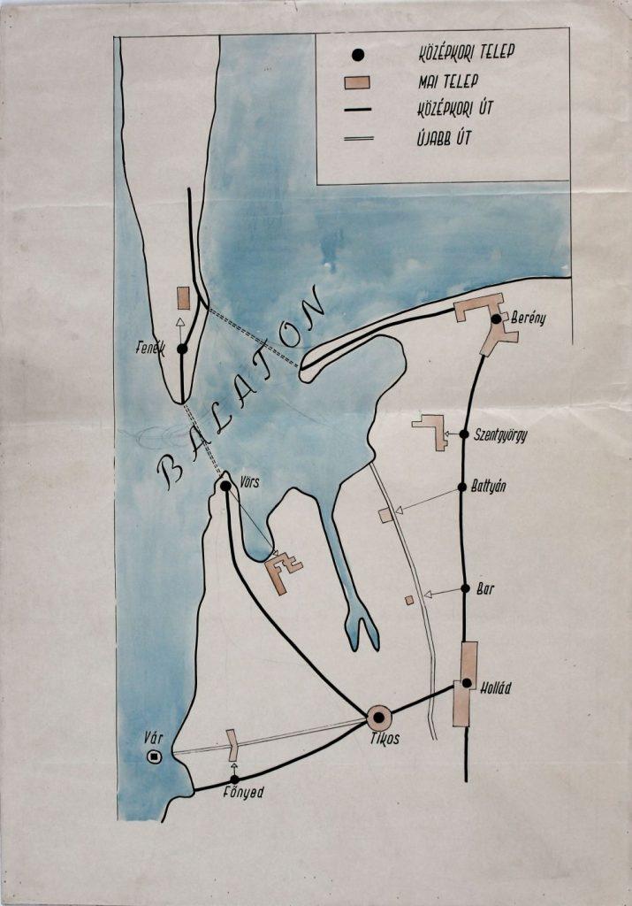 A fenékpusztai átkelő régészeti lelőhelyei a Balatoni Múzeumtól (MaNDA)
