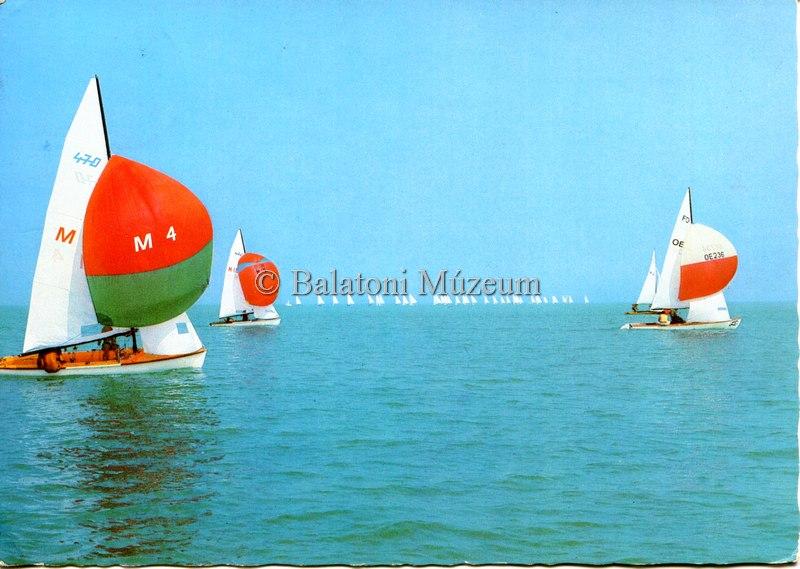 Hemző balatoni képeslapokat is fényképezett (MaNDA)