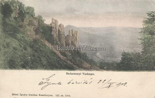 Badacsonyi Vaskapu (1902) - Vollmuth Péter - Badacsonytördemic, CC BY-NC-ND
