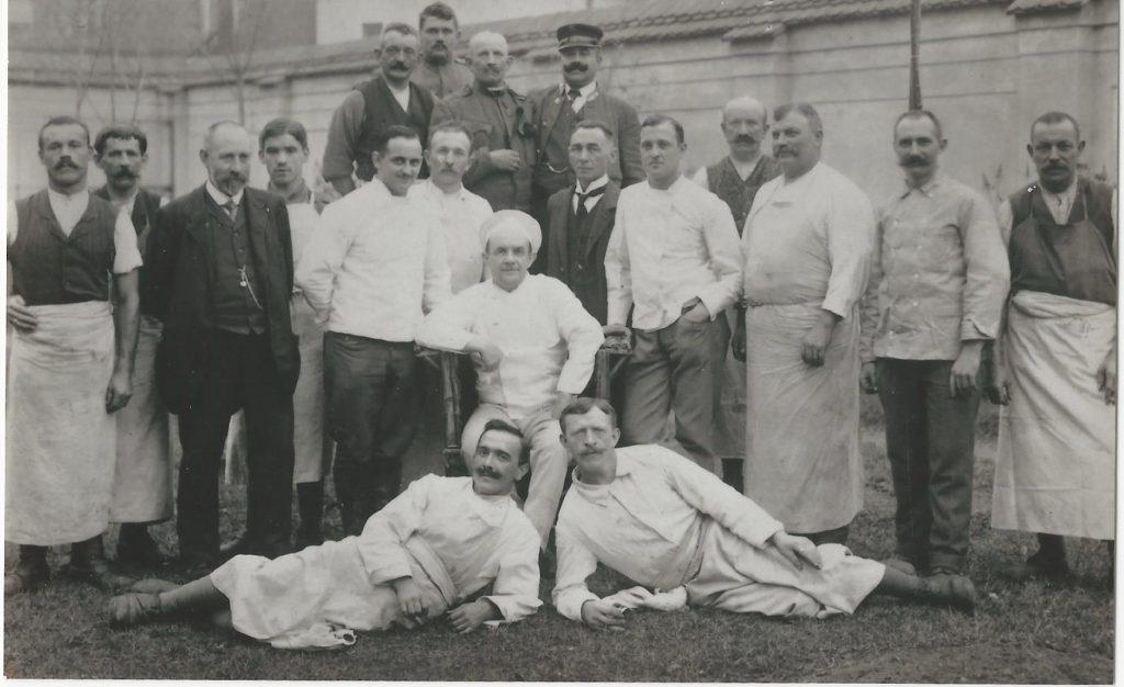 A kastély konyháján dolgoztak (MaNDA)