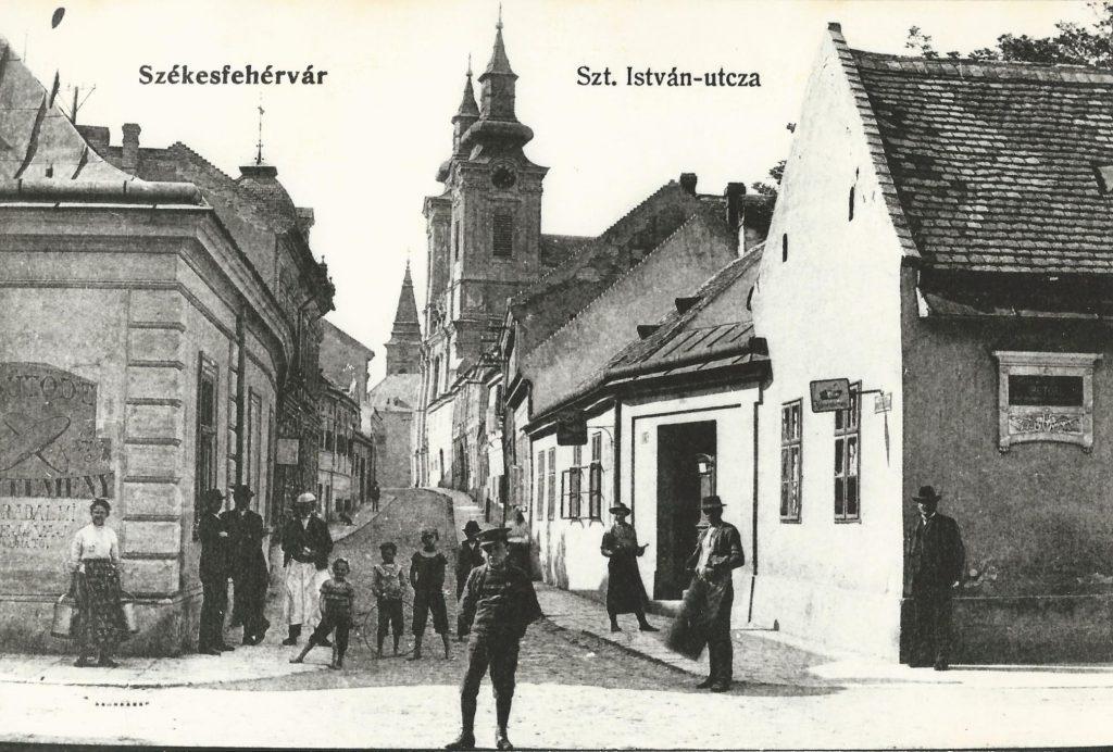 A fesztivál helyszíne az 1910-es években (MaNDA)