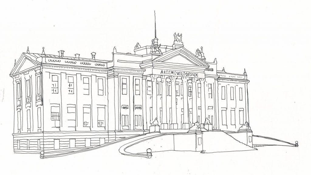 A kincsek ideiglenes otthona grafikán (MaNDA)