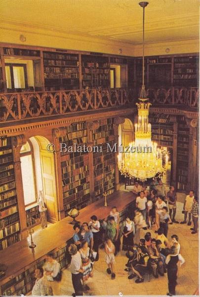 A kastély könyvtára - Balatoni Múzeum, CC BY-NC-ND