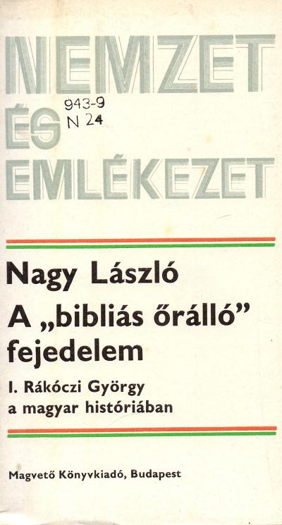 Egy egészen jó munka I. Rákóczi Györgyről (MaNDA)
