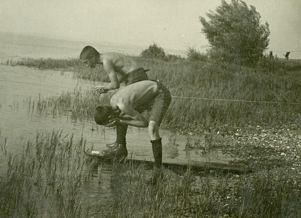 Cserkésztábor Balatongyörökön (1927) - Gróf Esterházy Károly Múzeum, Pápa, CC BY-NC-ND