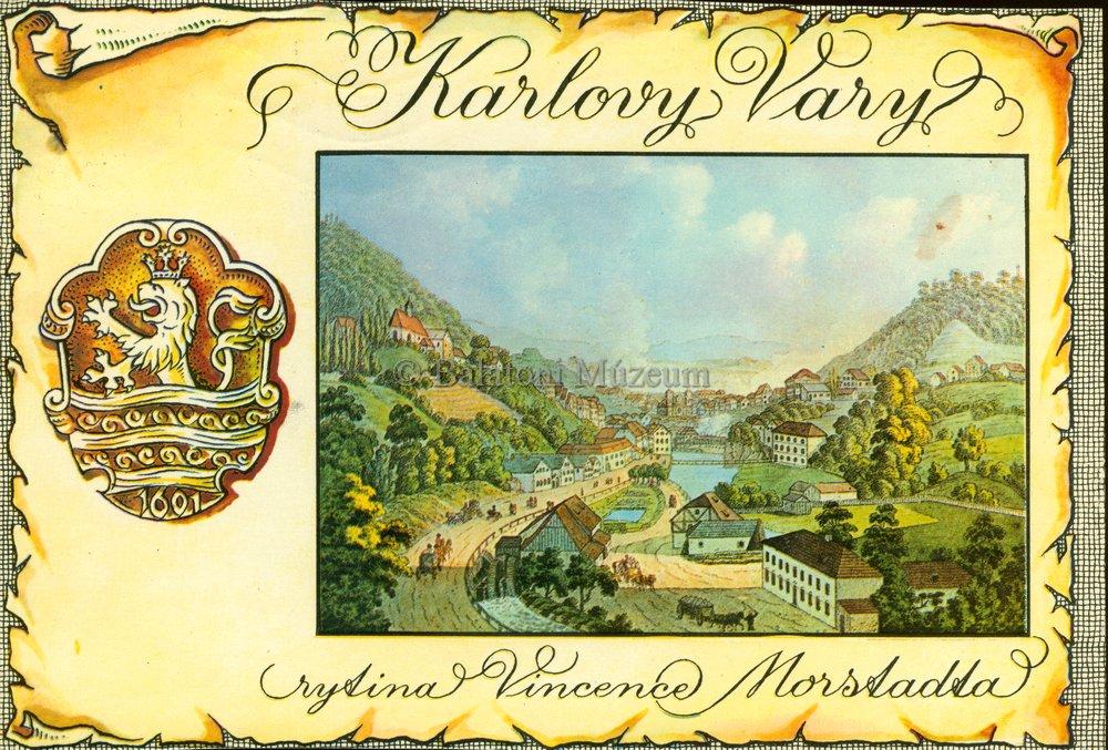 A fesztivál helyszíne képeslapon (MaNDA)