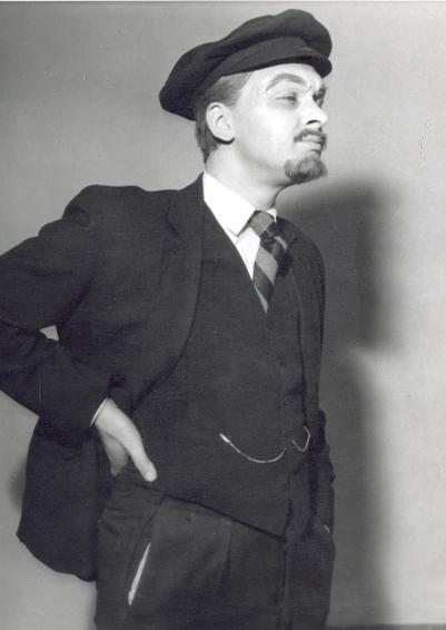 A névadó itt éppen Lenin szerepében (MaNDA)