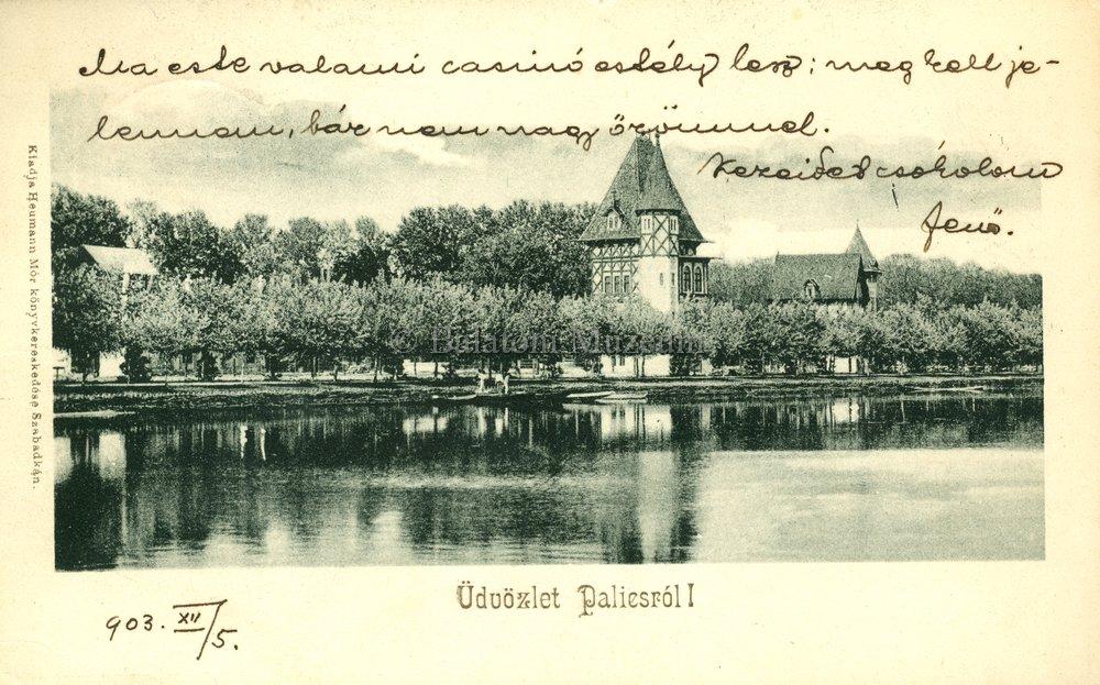 A fürdő 1903-ban (MaNDA)
