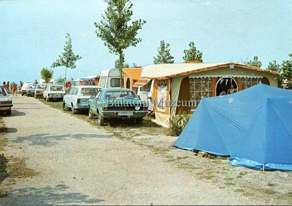 Zamárdi autós camping - Balatoni Múzeum, CC BY-NC-ND