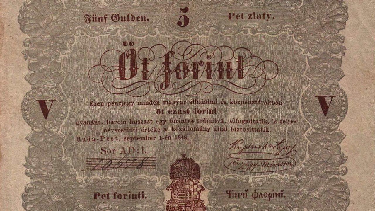 Bankjegy, aminek birtoklásáért börtön járt