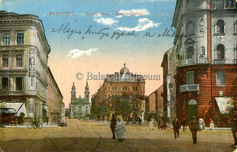 Baross utca - Balatoni Múzeum, CC BY-NC-ND