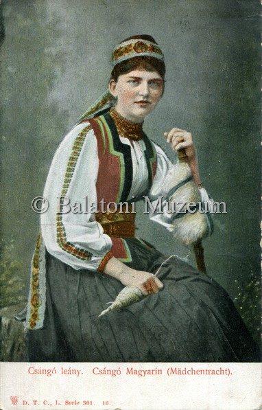 Idealizálva egy 1910-es képeslapon (MaNDA)