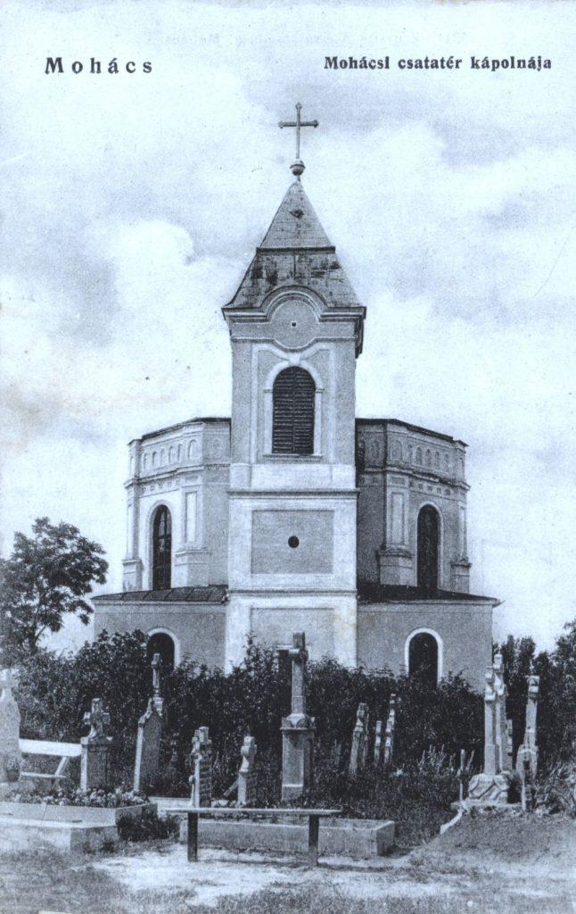 A török emlékmű helyére emelt kápolna (MaNDA)