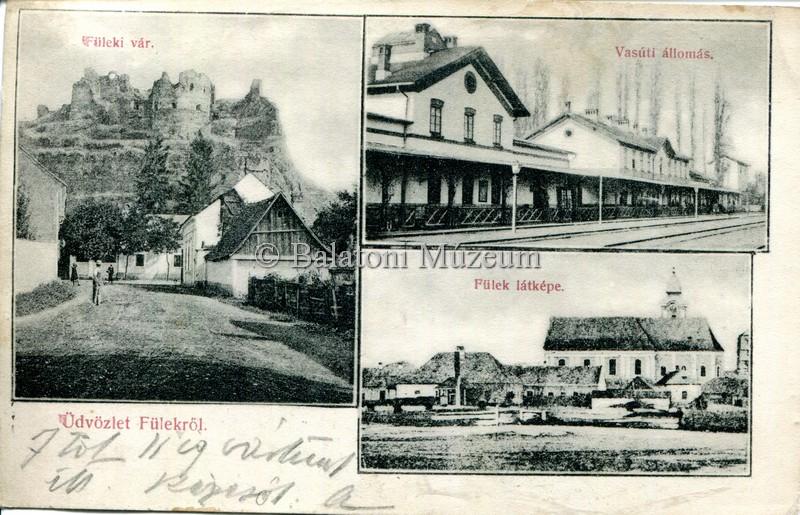A település egy 1906-os képeslapon (MaNDA)