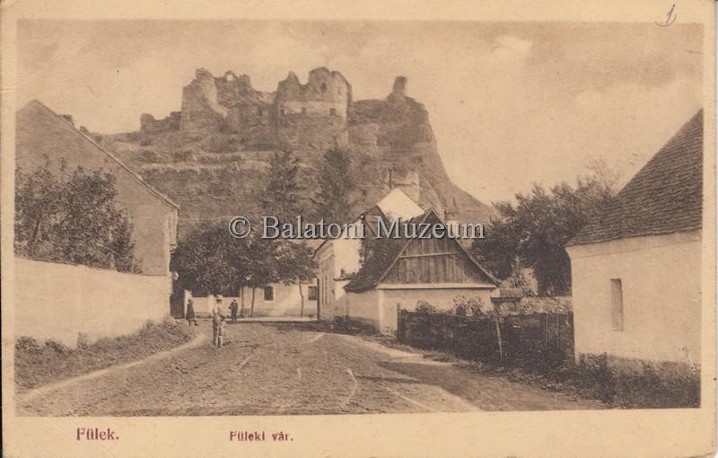 A romok egy 1913-as képeslapon (MaNDA)