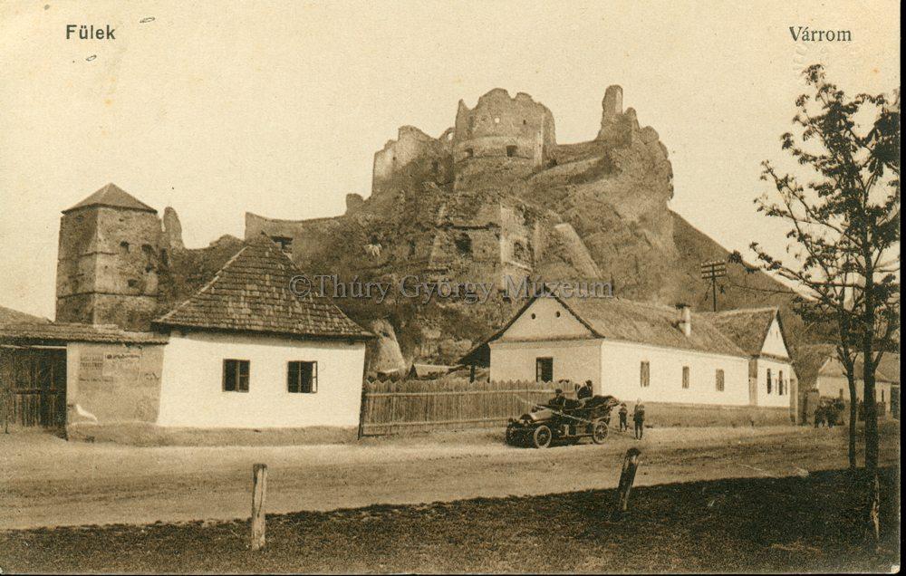Várrom automobillal 1916-ból (MaNDA)