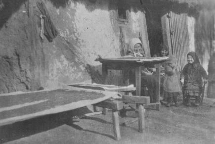 A hajdina szárogatása a somogyi Darányban (MaNDA)