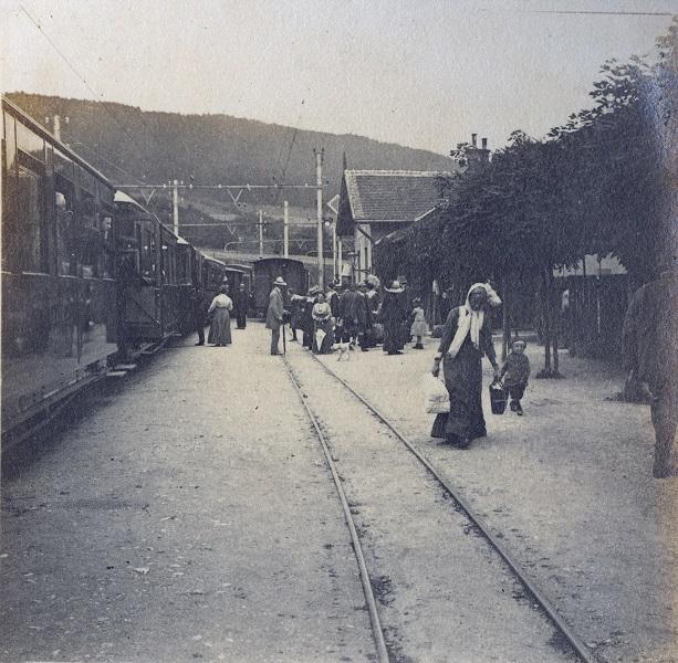 A Mariazelli Alpenbahn, Mariazelli vasút (20. század eleje) - Magyar Ferences Könyvtár, CC BY