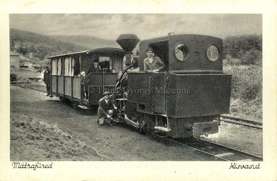 A mátrafüredi kisvasút (1930-as, 1940-es évek) - Thúry György Múzeum, CC BY-NC-ND