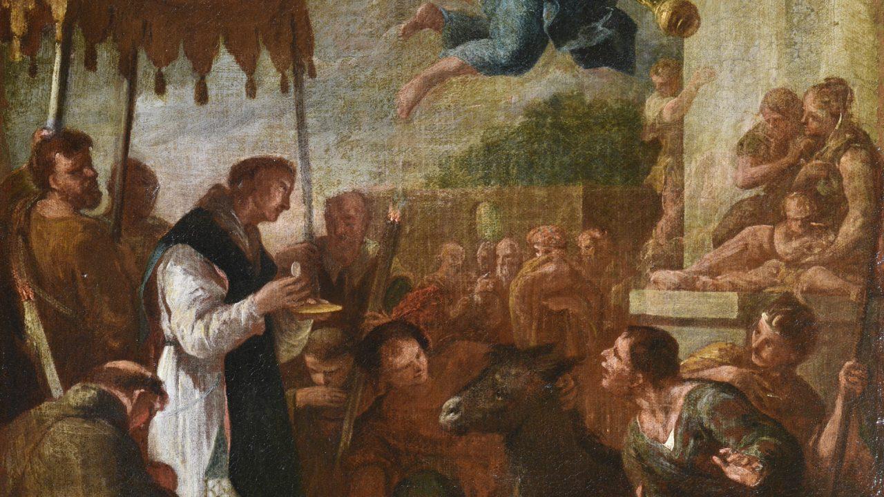 Az Eucharisztiáról a csodák és a művészet nyelvén, a Vigadóban