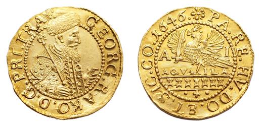 A fejedelem aranyforintja (numismatics.hu)