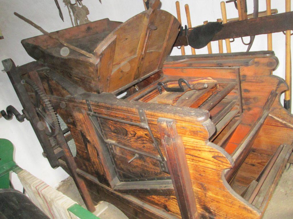 Szélrosta a mezőkövesdi múzeumból (MaNDA)