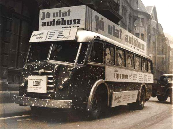Jó utat autóbusz - Magyar Nemzeti Digitális Archívum és Filmintézet, CC BY-NC-ND