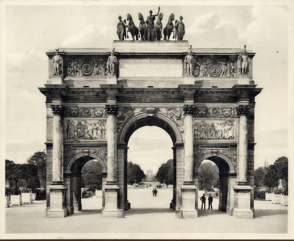 Arc de Triomphe du Carrousel - Carrousel-diadalív - Kuny Domokos Múzeum, CC BY