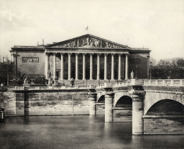 Palais Bourbon - Bourbon-palota - Kuny Domokos Múzeum, CC BY