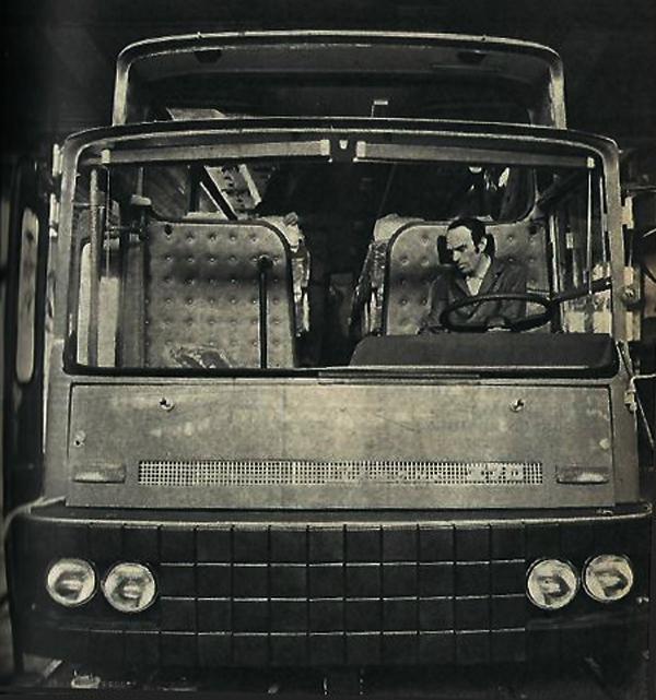Ikarus 270-es - Élet és tudomány 1976 - Szendrői Közművelődési Központ és Könyvtár, CC BY-NC-ND