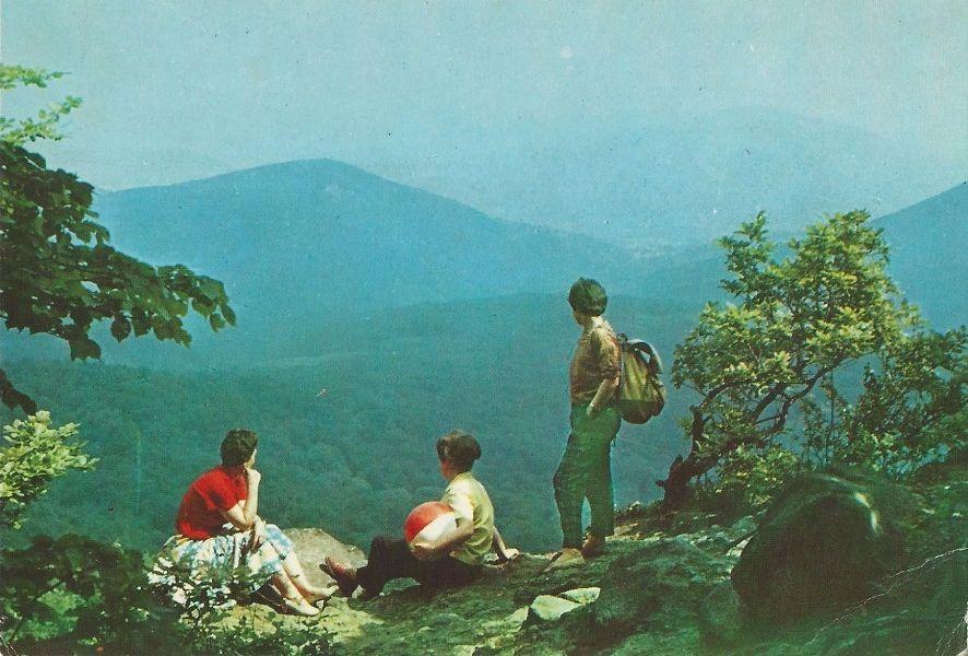 Dobogókő látképe, képeslap (1971) - Magyar Kereskedelmi és Vendéglátóipari Múzeum, CC BY-NC-ND