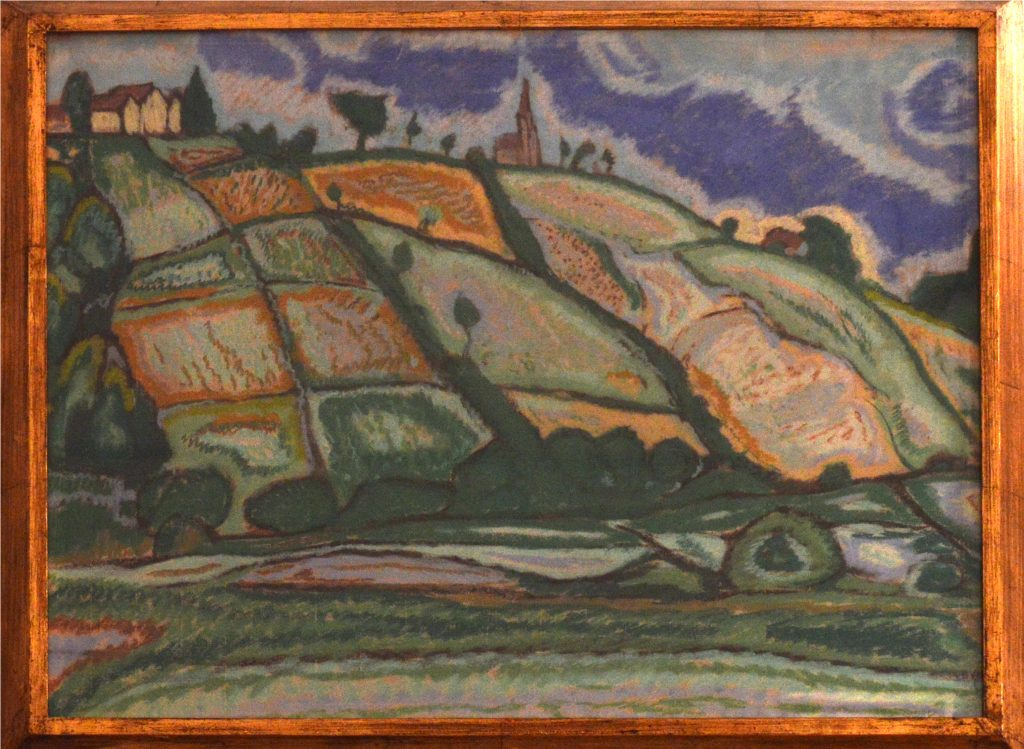 Egy festmény Kaposvárról (MaNDA)