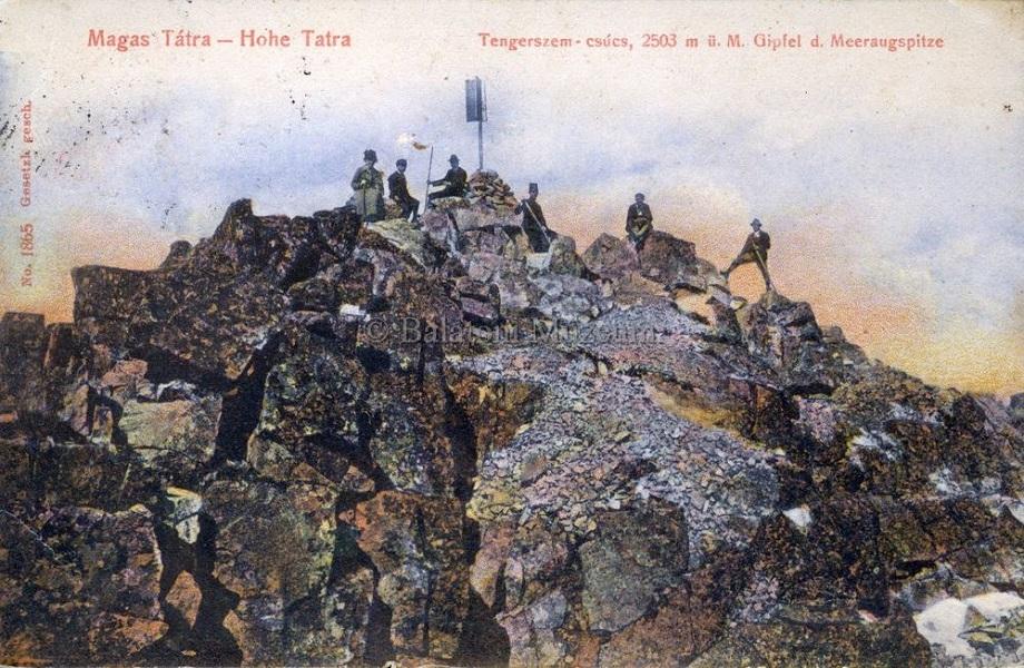 Magas-Tátra. Tengerszem-csúcs (1905) - Terleczky József, CC BY-NC-ND