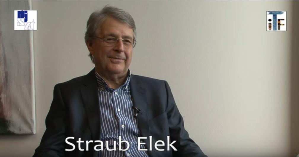 AZ NJSZT által készített portréfilm Straub Elekről (MaNDA)
