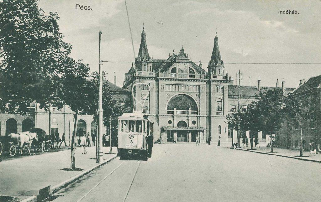 Pécs. Indóház - Csorba Győző Könyvtár - Pécs, PDM