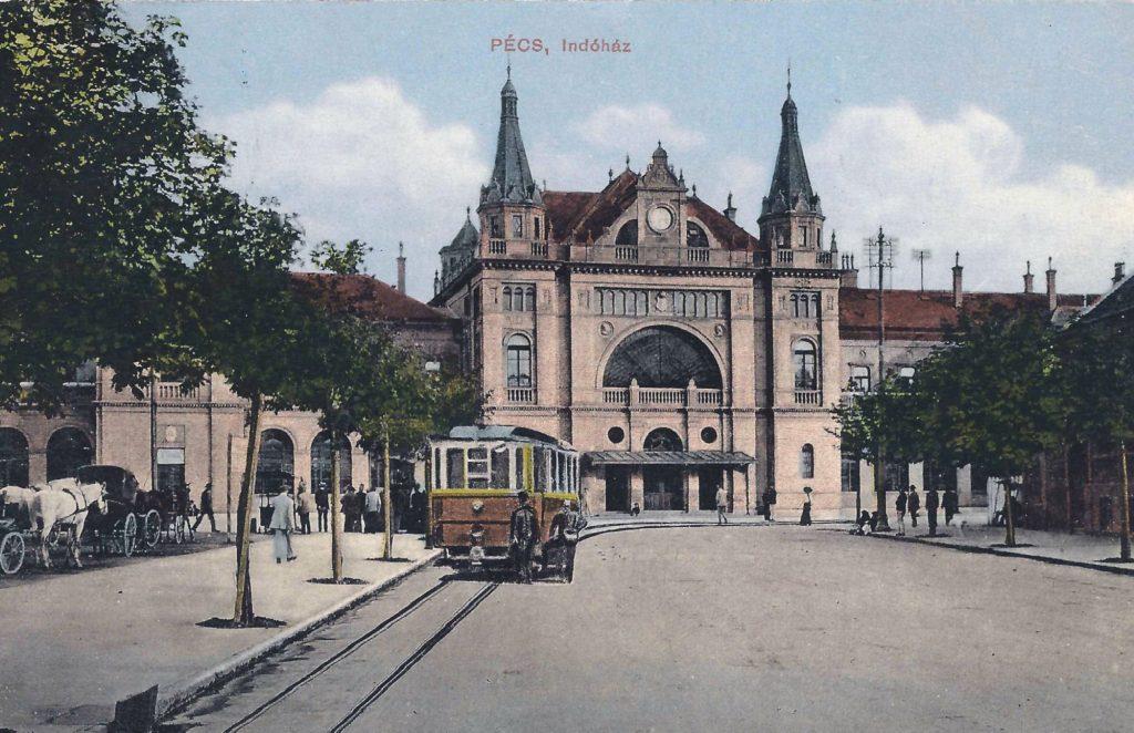 Pécs, Indóház - Csorba Győző Könyvtár - Pécs, PDM