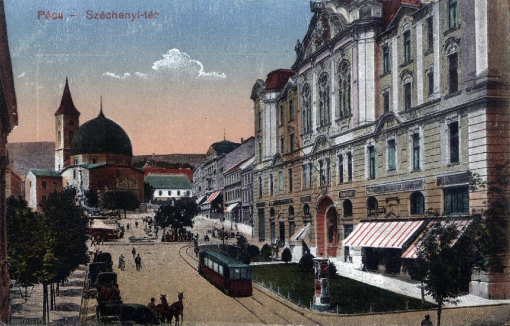 Pécs - Széchenyi tér - Tóth Tibor Endre, PDM