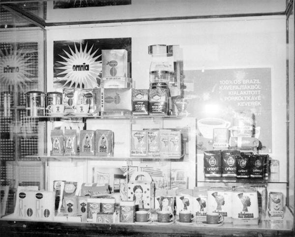 Kávé kiállítás - Magyar Kereskedelmi és Vendéglátóipari Múzeum, CC BY-NC-ND