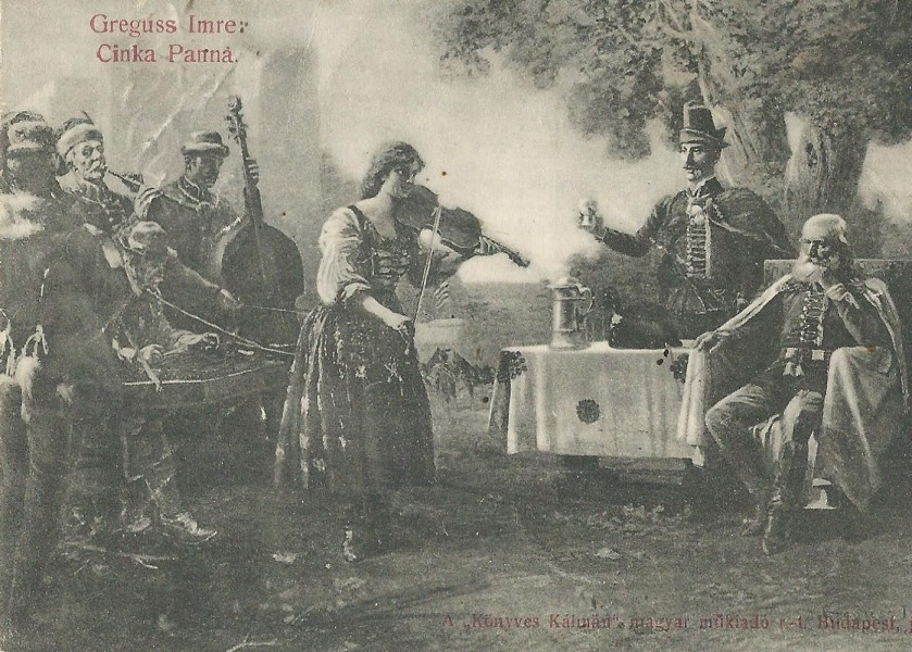 Greguss Imre: Cinka Panna c. festményének reprodukciója, képeslap - Magyar Kereskedelmi és Vendéglátóipari Múzeum, CC BY-NC-ND