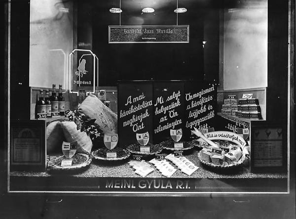 Meinl kávé-tea szaküzlet - Magyar Kereskedelmi és Vendéglátóipari Múzeum, CC BY-NC-ND
