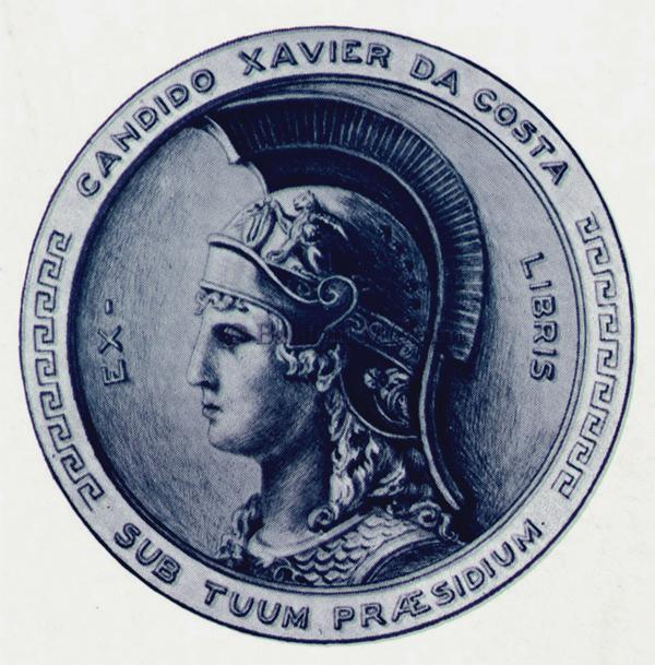 Candido Xavier da Costa Ex libris - Balatoni Múzeum, CC BY-NC-ND