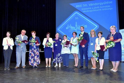 MKE50 díjazottak
