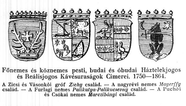 Pesti, budai és óbudai kávésuraságok címerei - MKVM, CC BY-NC-ND mcitem