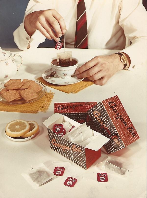Compack Garzon tea, reklám - Magyar Kereskedelmi és Vendéglátóipari Múzeum, CC BY-NC-ND