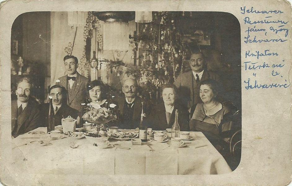 Családi karácsonyi ebéd (1923) - Magyar Kereskedelmi és Vendéglátóipari Múzeum, CC BY-NC-ND