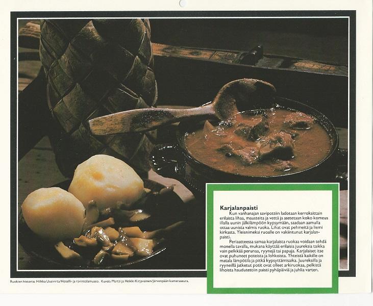 Ételkülönlegességek Finnországból (1970-es évek) - Magyar Kereskedelmi és Vendéglátóipari Múzeum, CC BY-NC-ND