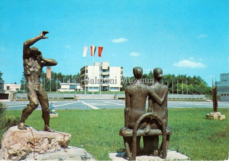 Zánka. Balatoni Úttörőváros - Balatoni Múzeum, CC BY-NC-ND